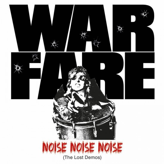 "WARFARE ""Noise Noise Noise (The Lost Demos)"" CD"