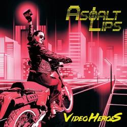"""ASPHALT LIPS """"Video HeroeS"""" CD"""