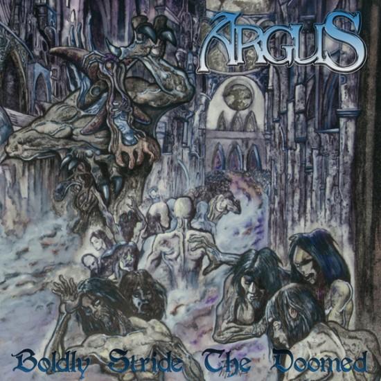 """ARGUS """"Boldly Stride the Doomed"""" DLP GATEFOLD"""
