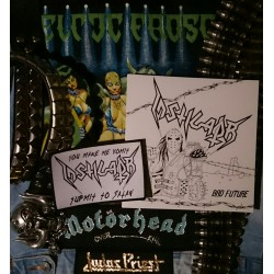 "INSTIGATOR - ""Bad Future"" 7'' EP / ""You Make Me Vomit"" PATCH"