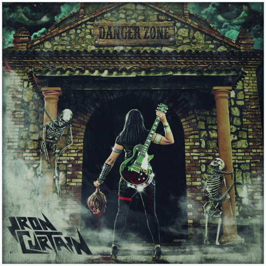 "IRON CURTAIN ""Danger Zone"" LP"