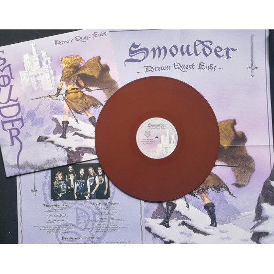 """SMOULDER """"Dream Quest Ends"""" LP LEATHER BROWN"""