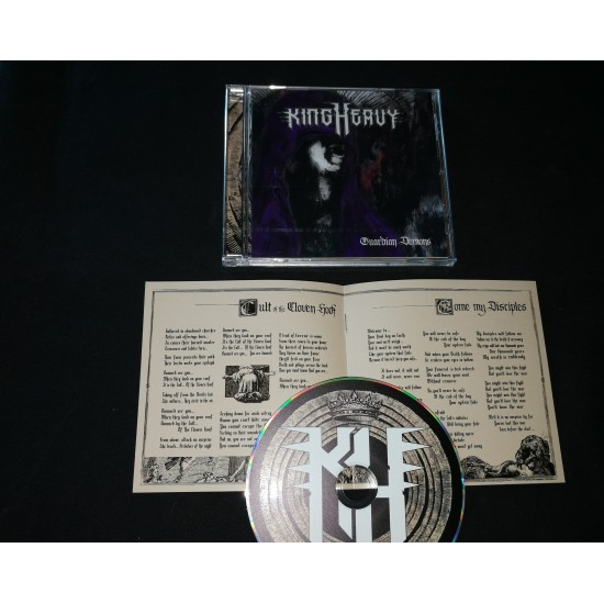 "KING HEAVY ""Guardian Demons"" CD"