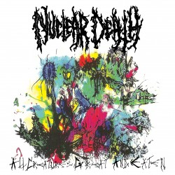 "NUCLEAR DEATH ""All Creatures Great And Eaten"" LP"