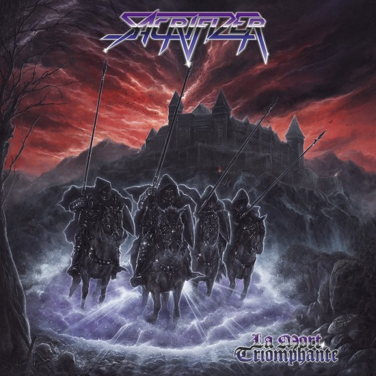 """SACRIFIZER """"La Mort Triomphante"""" LP"""