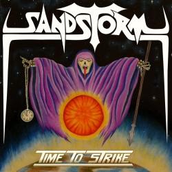"""SANDSTORM """"Time To Strike"""" LP"""