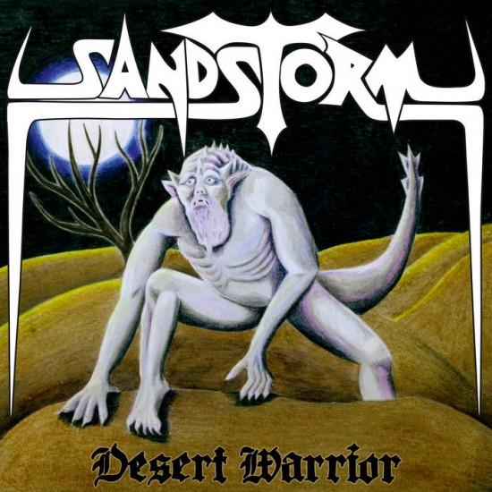 """Sandstorm """"Desert Warrior"""" CD"""