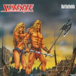 """SCAVENGER """"Battlefields"""" LP"""