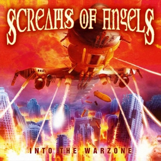 "SCREAMS OF ANGELS ""Into The Warzone"" CD"
