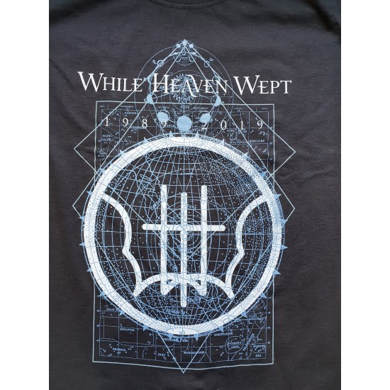 "WHILE HEAVEN WEPT ""1989-2019 - 30th Anniversary"" TSHIRT"